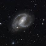 NGC1097 - Seyfert-1 Galaxie im Sternbild Fornax