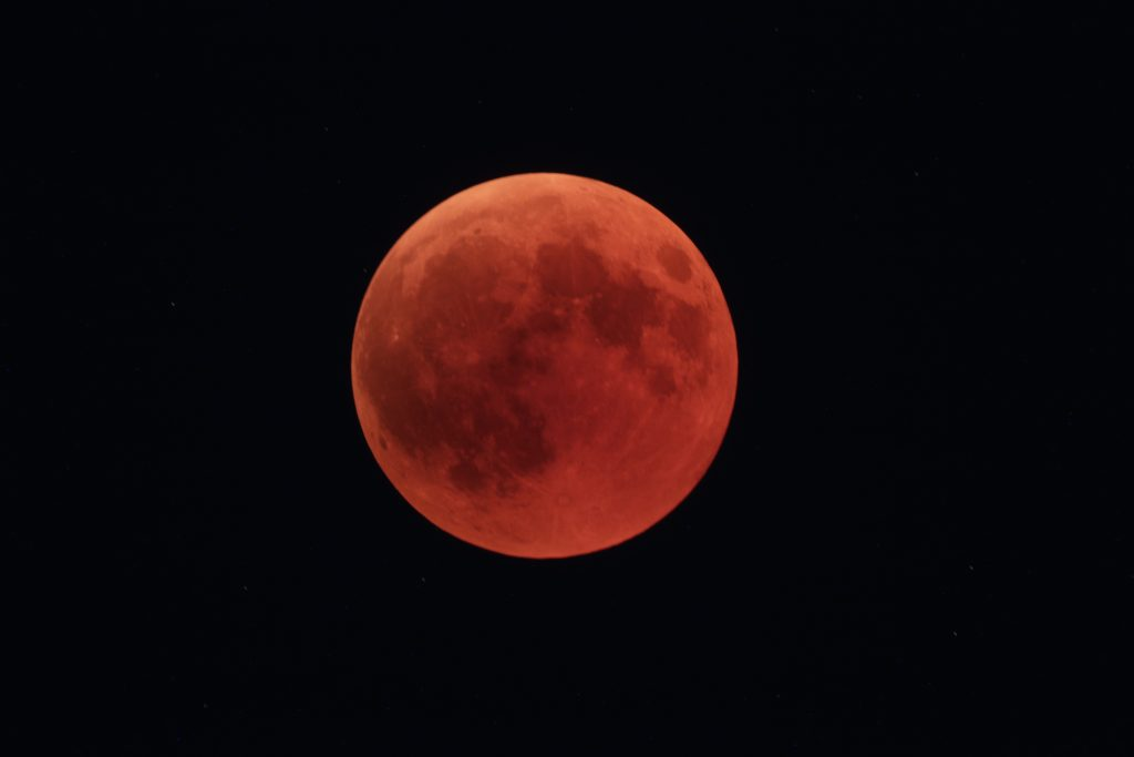 Mondfinsternis - Totalität